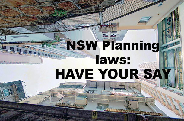 Planning Green Paper: HAVE YOUR SAY
