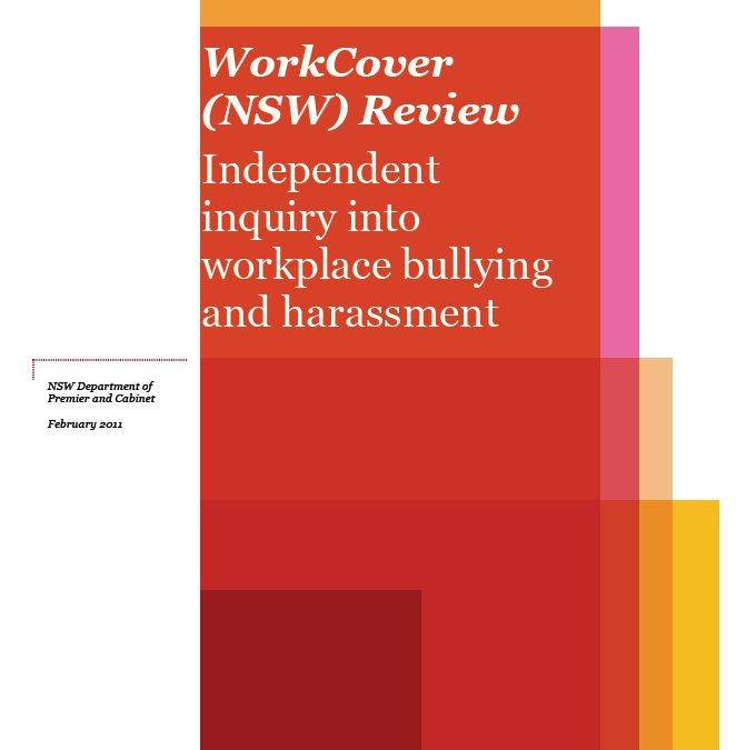Media Release: WorkCover bullying inquiry shows regulator failing on all levels