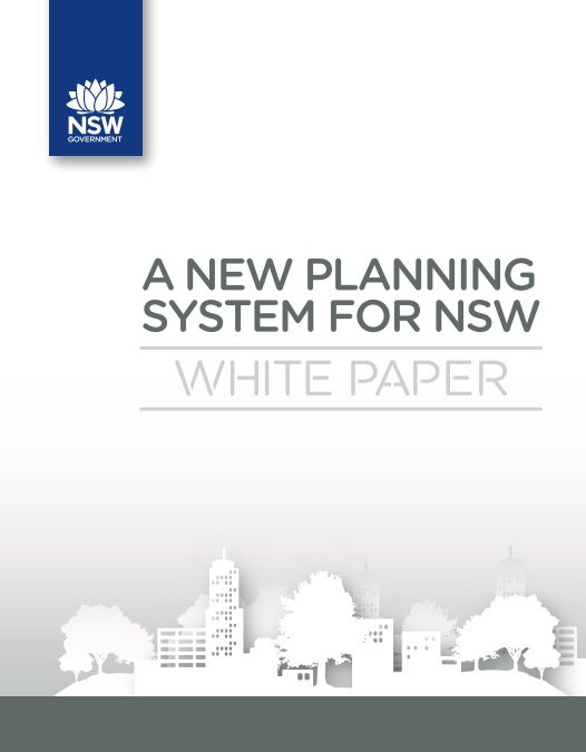Submission to the Planning White Paper