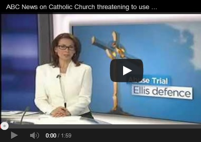 "MEDIA: Church use of the ""Ellis Defence"" ongoing – urgent reform needed"