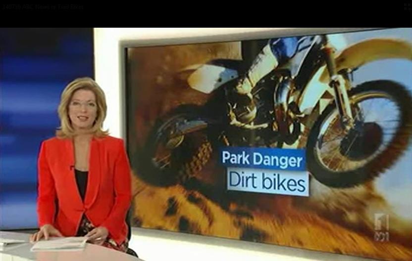 Making forest roads safer by regulating dirt bikes