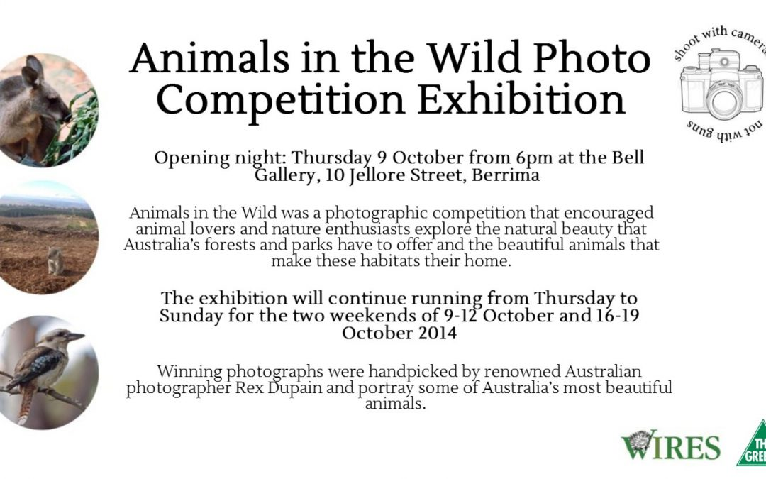 EVENT Animals in the Wild Exhibition: Berrima