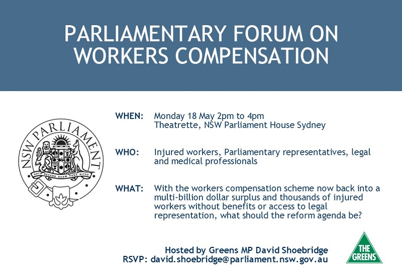 Parliamentary Forum on Workers Compensation