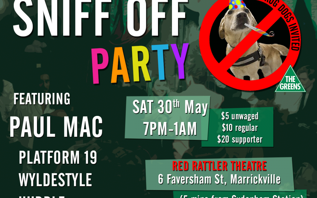 Don't like sniffer dogs? There's a party for that