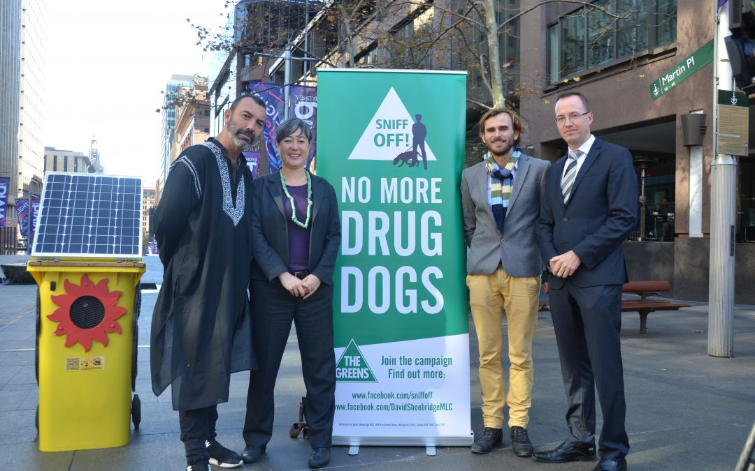 Drug Detection Dog Repeal Bill