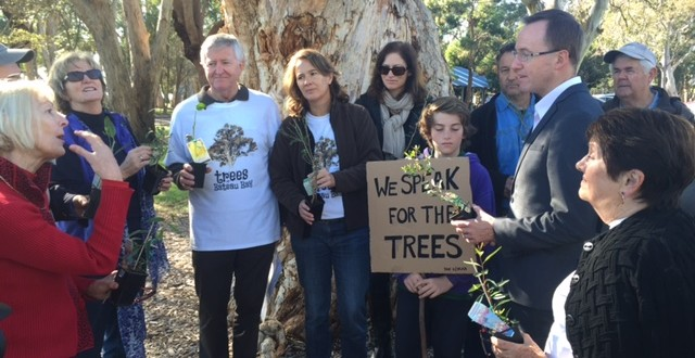 Campaign to save Wyong's trees launched