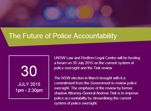 Forum – The Future of Police Accountability