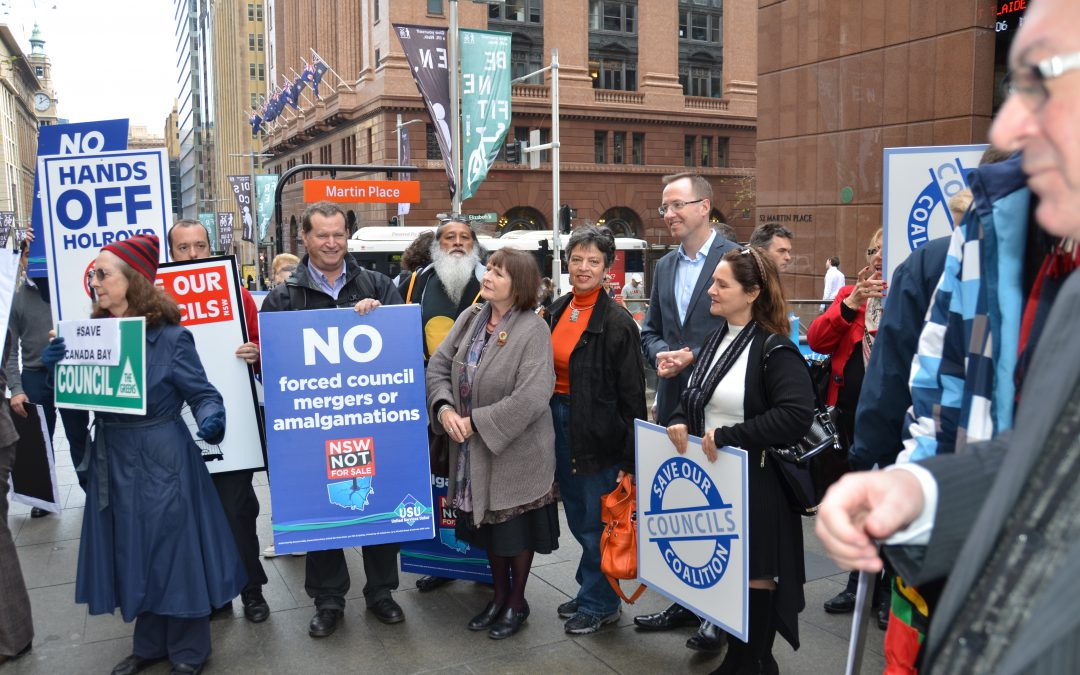 Local councils should not be fooled by Baird's bluster and bullying