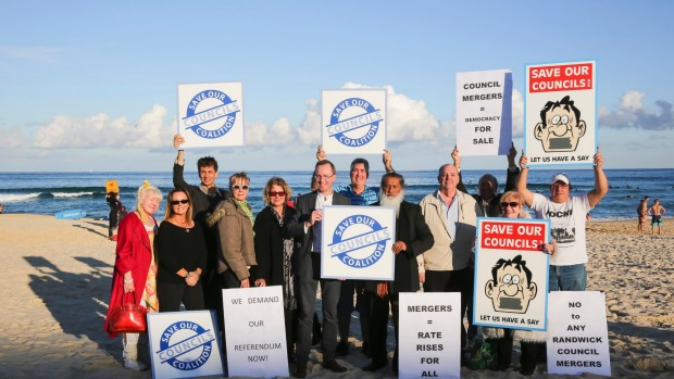 Greens bill to stop forced amalgamations