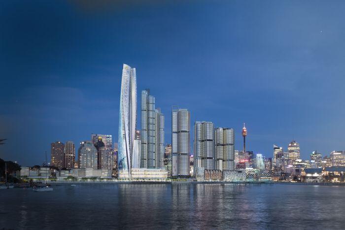 Packer's blight on Sydney Harbour one step closer to development