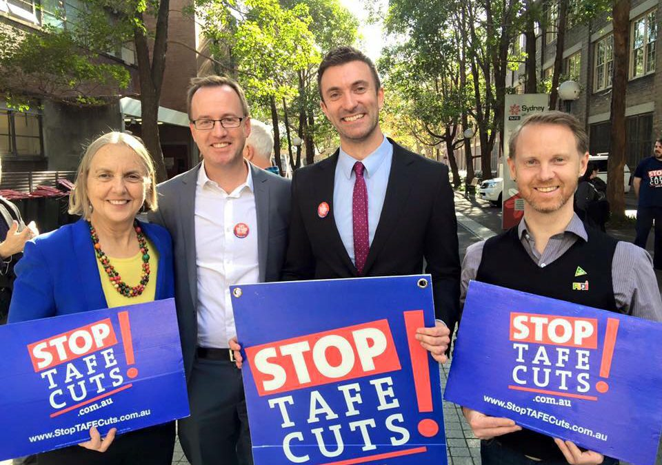 Jobs growth needs a healthy TAFE, not Labor's 6 month training stopgap