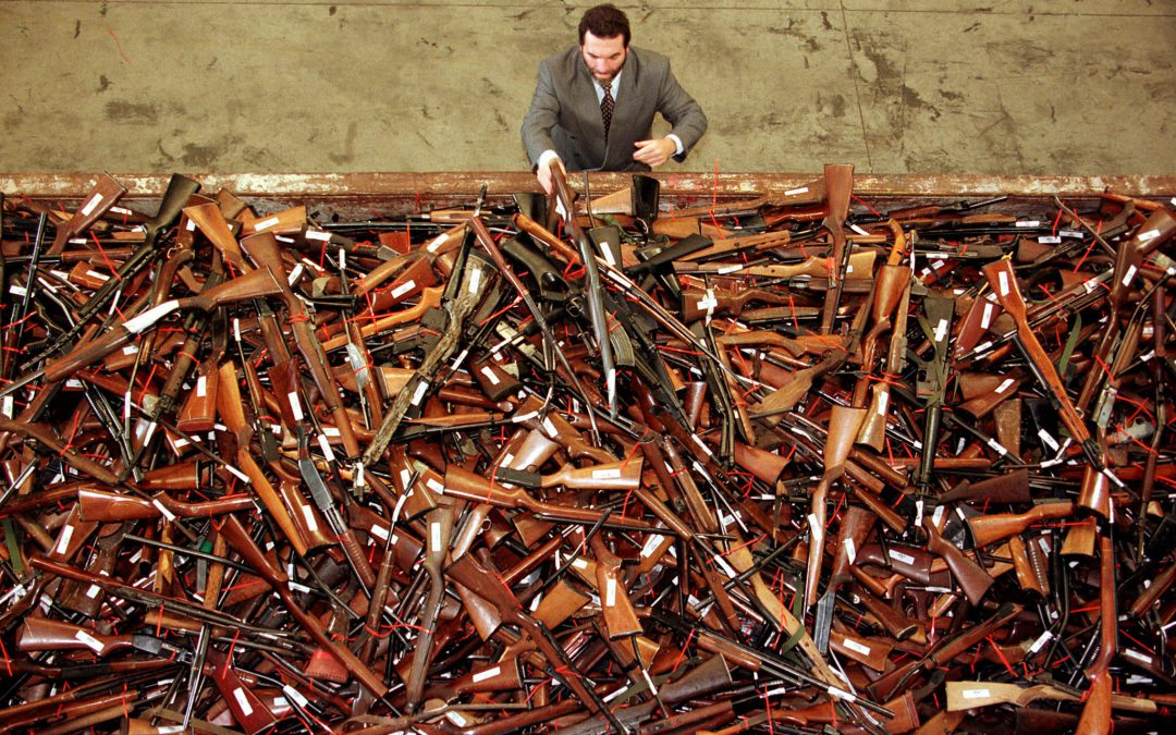 NSW on track for 1 million guns