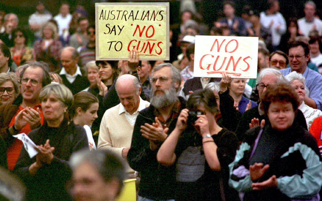 Coalition Government hand in hand with the gun lobby to tear down the National Firearms Agreement