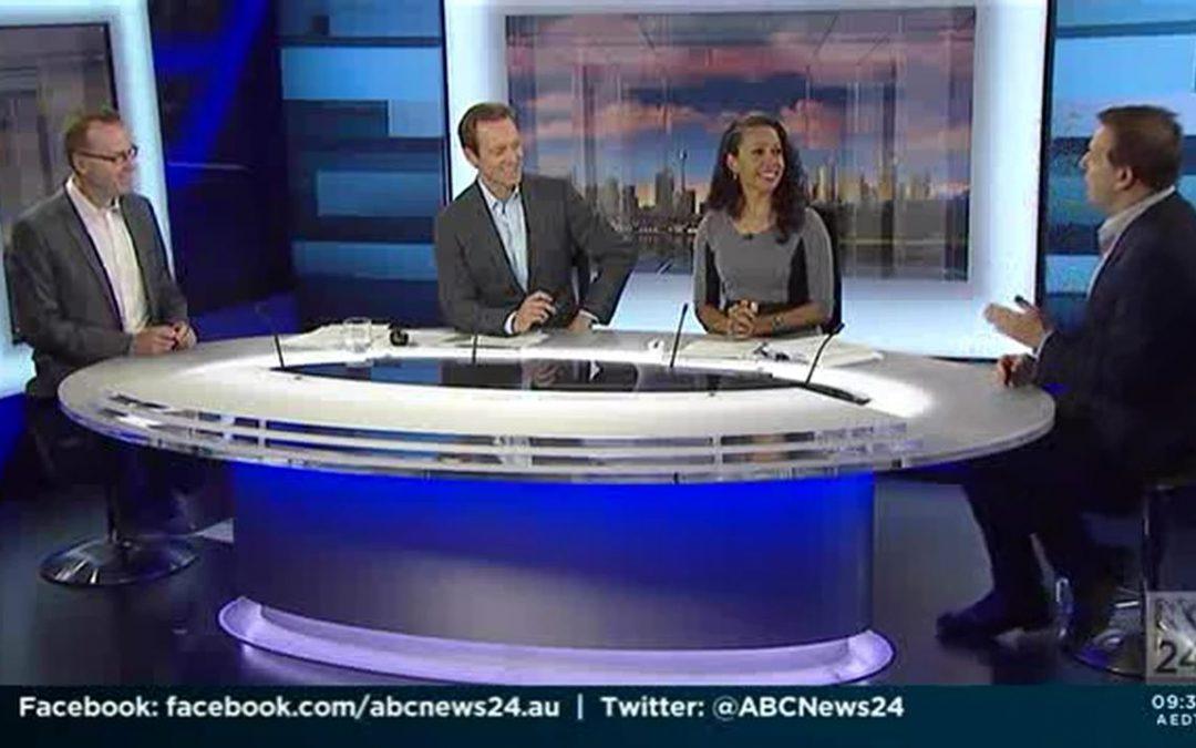David Shoebridge and Jason Falinski on ABC24 – 26 November 2016
