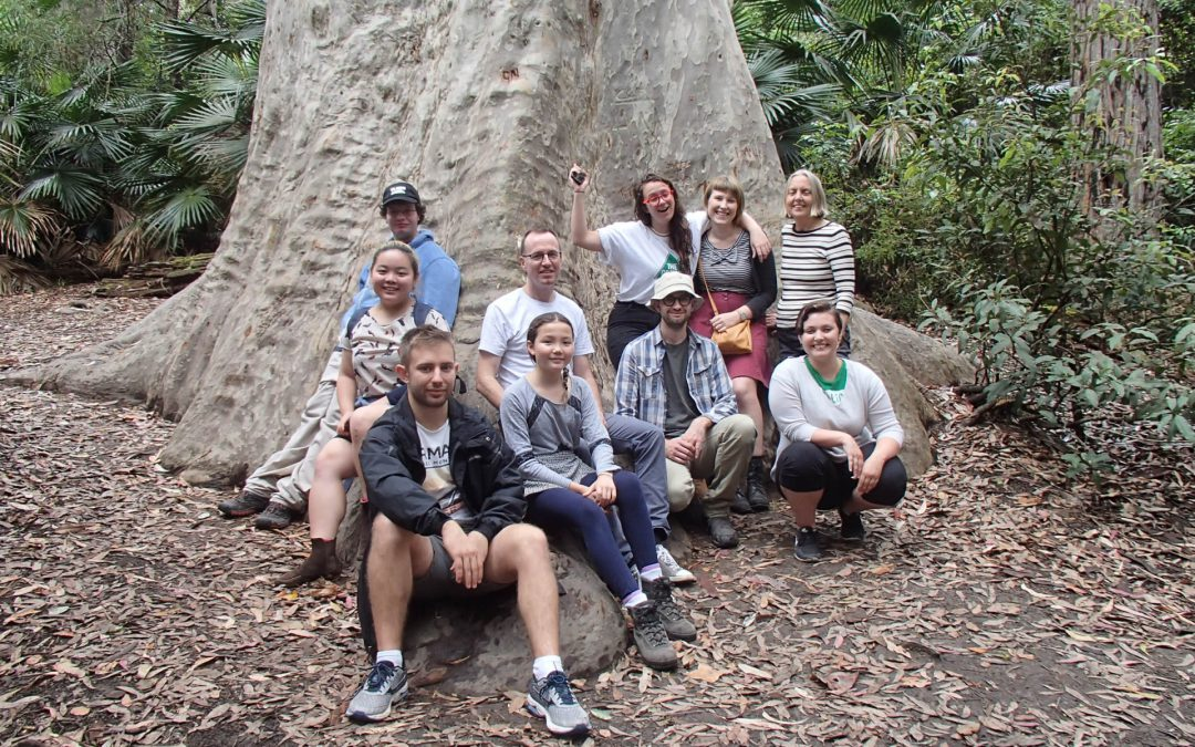Bushwalking club: Hawkesbury, Springwood and Narrabeen Lakes
