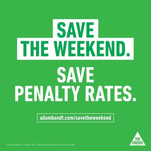 "Disgraceful decision by ""Fair"" Work Australia to slash penalty rates"