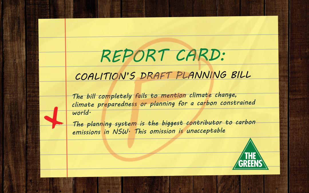 Coalition's planning reforms: another fail