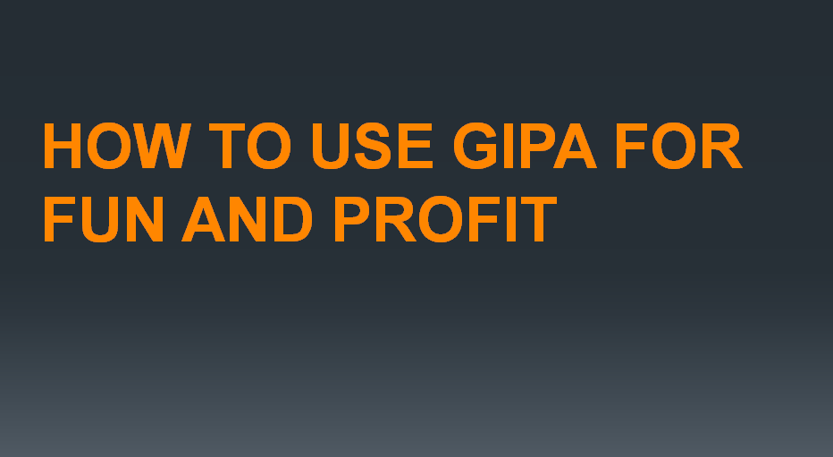 How to access Government information – GIPA CLE