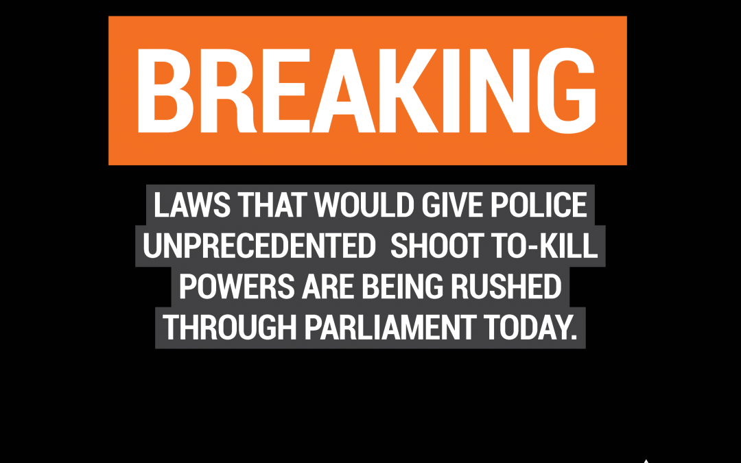Shoot-to-kill powers are an unprecedented police overreach that will not make us safer