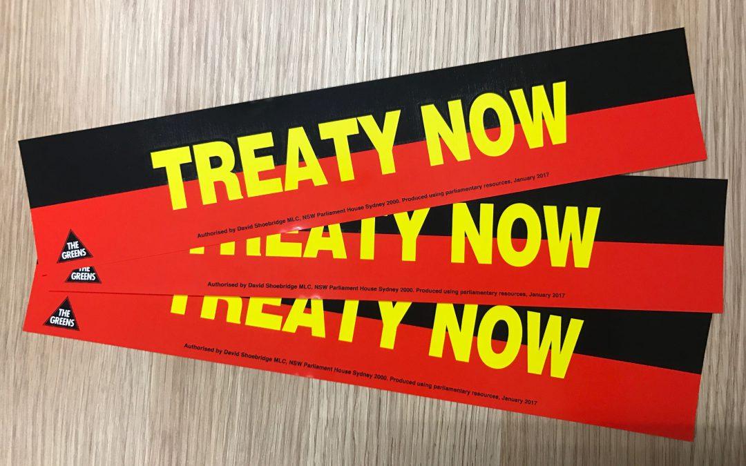 Treaty Now Petition